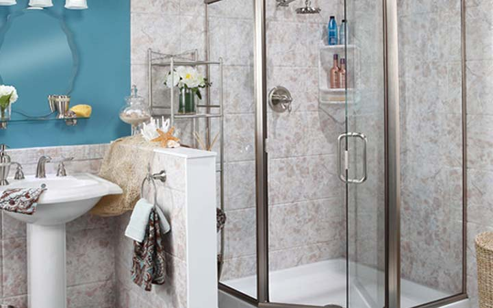 Shower enclosures tampa shower doors luxury bath of for Bath remodel tampa