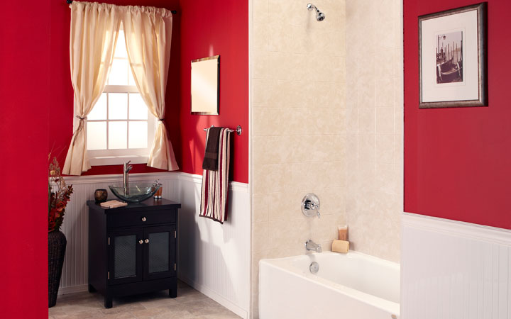 Bathtub shower combo bathroom remodeling tampa fl for Bathroom renovation tampa